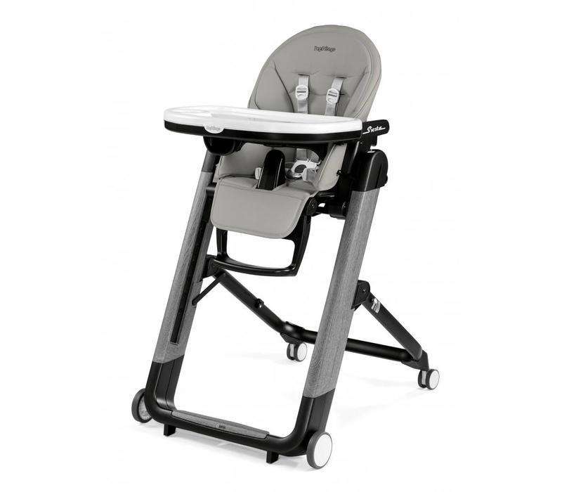 Peg Perego Prima Siesta High Chair In Ambiance Grey