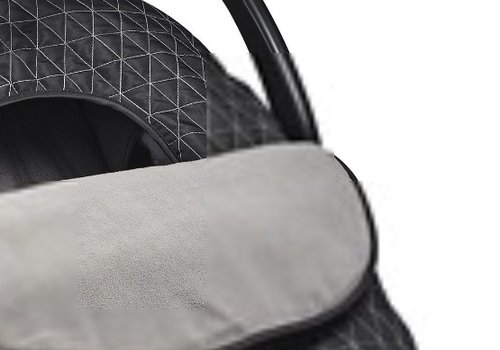 JJ Cole Collections JJ Cole Car Seat  Cover In Black Triangle Stich
