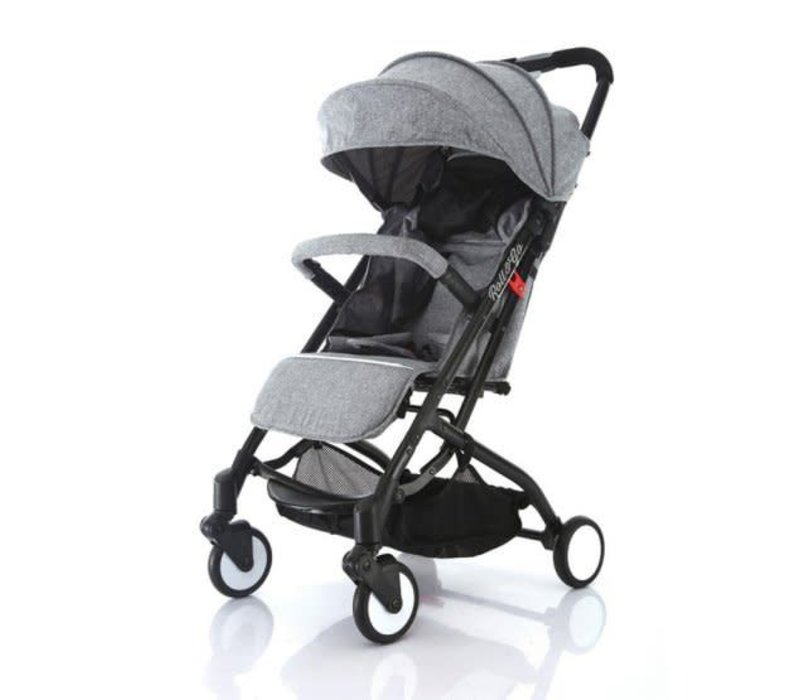 Baby Roues Roll And Go Stroller In All Grey