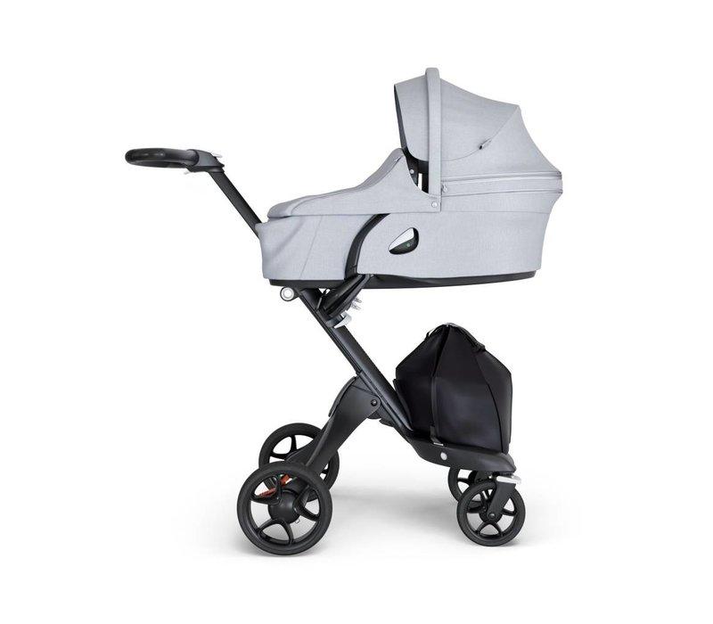 2018 Stokke Xplory Carrycot Grey Melange (Stroller Frame Not Included)