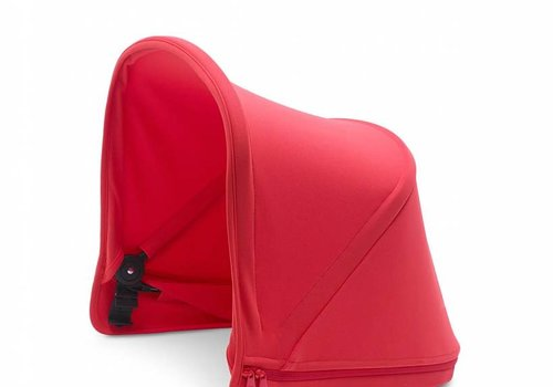 Bugaboo Bugaboo Donkey2 Extendable Sun Canopy In Neon Red