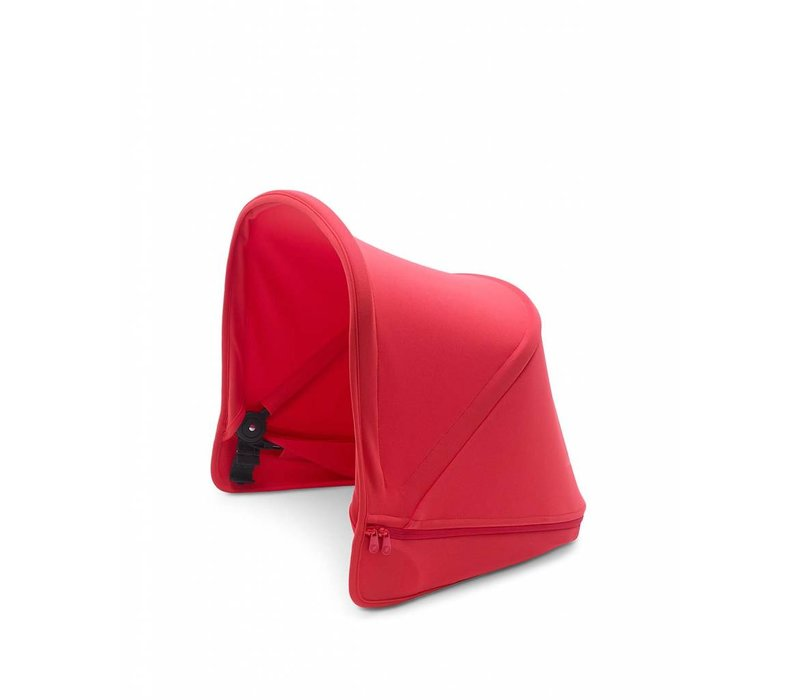 Bugaboo Donkey2 Extendable Sun Canopy In Neon Red