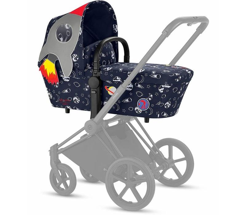Cybex PRIAM Carry Cot Space Rocket | navy blue