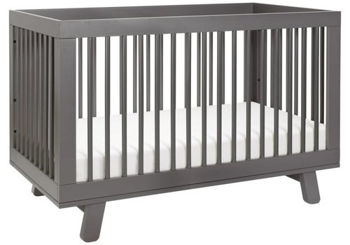 Baby Letto Baby Letto Hudson 3 In 1 Convertible Crib With Toddler Rail In Slate