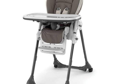 Chicco Chicco Polly Vinyl Highchair In Latte