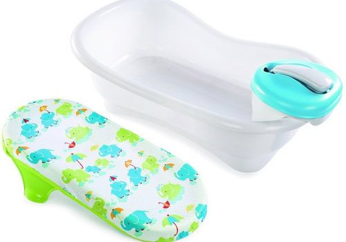 Summer Infant Newborn To Toddler Bath Shower Tub In Blue