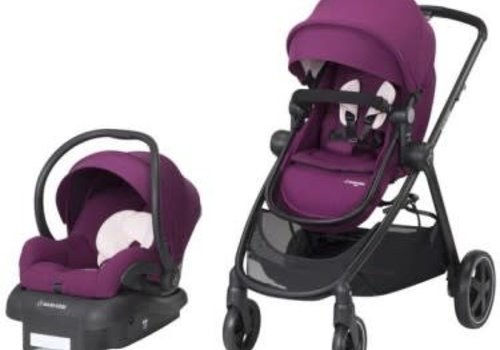 Maxi Cosi 2018 Maxi Cosi Zelia Travel System with Mico 30 (Violet Caspia)