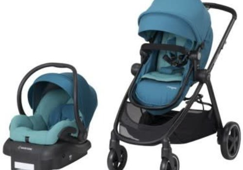 Maxi Cosi 2018 Maxi Cosi Zelia Travel System with Mico 30 (Emerald Tide)