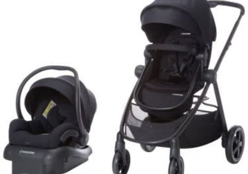 Maxi Cosi 2018 Maxi Cosi Zelia Travel System with Mico 30 (Night Black)