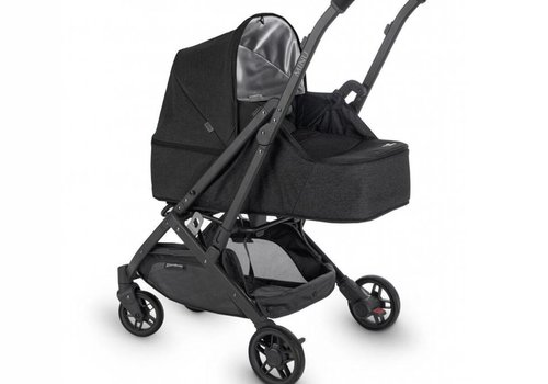 UppaBaby 2018 Uppababy Minu From Birth Kit JAKE (Black Mélange/Carbon/Black Leather)