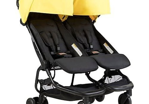 Mountain Buggy 2018 Mountain Buggy Duo Nano Travel Double In Cyber