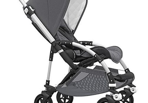 Bugaboo Bugaboo Bee5 Classic  (Quilted) Complete Aluminum/Grey Melange