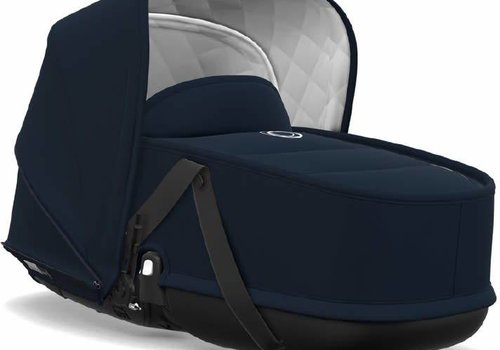 Bugaboo Bugaboo Bee5 Classic  (Quilted) bassinet Tailored Fabric Sets In Dark Navy