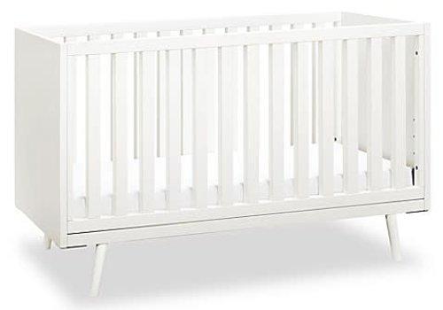 Ubabub Ubabub Nifty Timber Crib In white