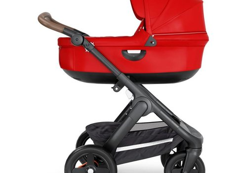Stokke 2018 Stokke Crusi And Trailz Carrycot In Red