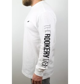 ROOKERY ROOKERY - SMALL LOGO L/S WHITE