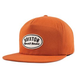 BRIXTON BRIXTON - MAGS HP ORANGE SNAPBACK