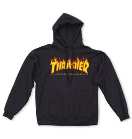 THRASHER THRASHER - FLAME LOGO HOOD