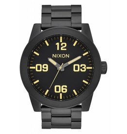 NIXON - CORPORAL SS ALL BLACK/LUM