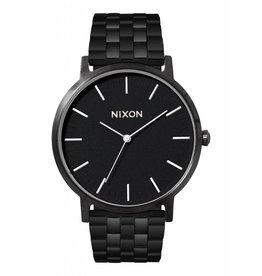 NIXON NIXON - PORTER ALL BLACK/WHITE