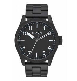 NIXON NIXON - SAFARI ALL BLACK/WHITE