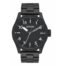 NIXON - SAFARI ALL BLACK/WHITE