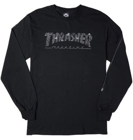 THRASHER THRASHER - WEB L/S TEE
