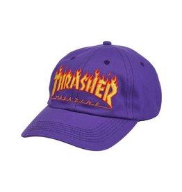 THRASHER THRASHER - FLAME OLD TIMER STRAPBACK CAP