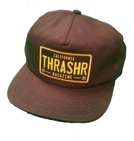 THRASHER THRASHER - DMV SNAPBACK CAP