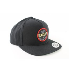 ROOKERY ROOKERY - CIRCLE SNAPBACK BLACK/RED
