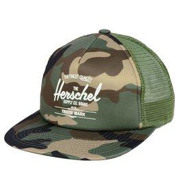 HERSCHEL HERSCHEL - WHALER MESH CAP CAMO