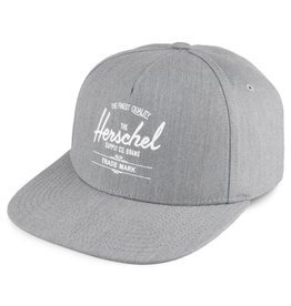 HERSCHEL HERSCHEL - WHALER CAP HEATHER GREY