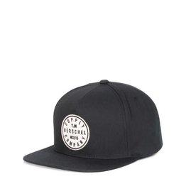 HERSCHEL HERSCHEL - TM SNAPBACK CAP BLACK