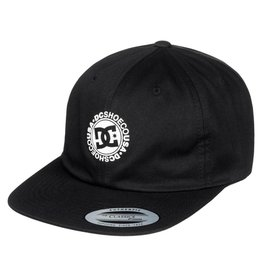 DC SHOES DC SHOES - CORE TWILL UNSTRUCTURED STARPBACK CAP