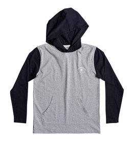 DC SHOES DC SHOES - RELLIN 2 HOODED L/S TEE KID