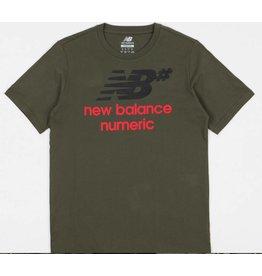 NEW BALANCE NEW BALANCE NUMERIC - STACKED LOGO TEE