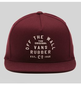 VANS VANS - RUBBER CO KID FLEXFIT CAP