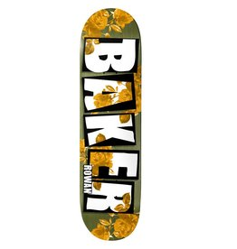 "BAKER BAKER - ROWAN BRAND NAME ROSE GOLD 7.75"" DECK"