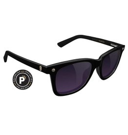 GLASSY GLASSY - MIKE MO PREMIUM POLARIZED BLACK/PURPLE SMOKE