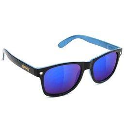 GLASSY GLASSY - LEONARD BLACK/BLUE/ BLUE MIRROR