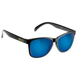 GLASSY GLASSY - DERIC BLACK/BLUE MIRROR