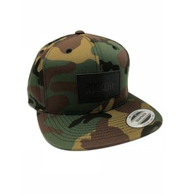 ROOKERY ROOKERY - LEATHER PATCH CAMO SNAPBACK