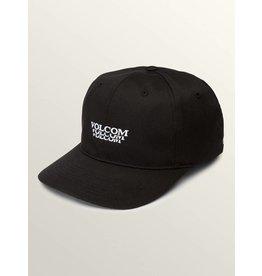 VOLCOM VOLCOM - DESCEND XFIT CAP BLACK