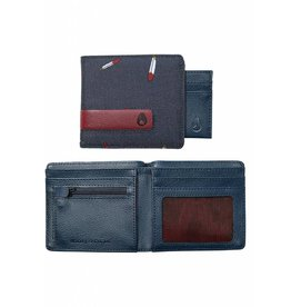 NIXON - SHOWTIME BI-FOLD WALLET MIDNIGHT NAVY MULTI