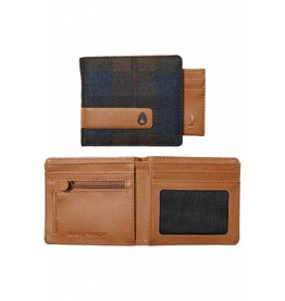 NIXON - SHOWTIME BI-FOLD WALLET PLAID