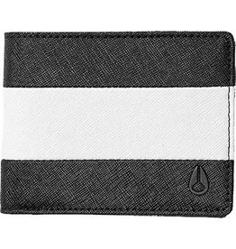 NIXON - ARC BI-FOLD WALLET BLACK WHITE BLACK