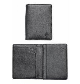 NIXON NIXON - RF CARD WALLET ALL BLACK