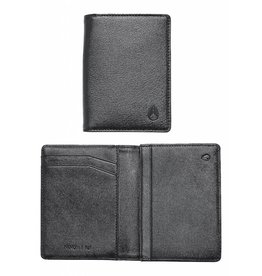 NIXON - RF CARD WALLET ALL BLACK