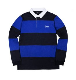 DIME DIME - STRIPED RUGBY SHIRT L/S