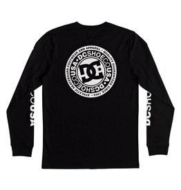DC SHOES DC SHOE - CIRCLE STAR L/S TEE